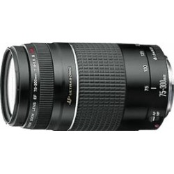 Canon EF 75-300mm f / 4.0-5.6 III USM