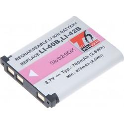 Baterie T6 power Li-40B, Li-42B, D-Li63, NP-45, KLIC-7006, EN-EL10, 02491-0066-00, NP-80, NP-82, NP-45A, NP45, D-Li108, DS5370,