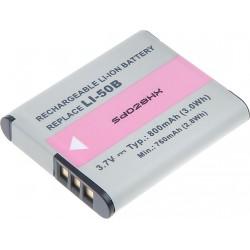 Baterie T6 power Li-50B, D-Li92, DB-100, VW-VBX090, NP-150, LB-050