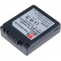Baterie T6 power DMW-BM7, CGA-S002E, CGA-S002, CGA-S002A, CGA-S002A/1B, CGA-S002E/1B, CGR-S002, CGR-S002E