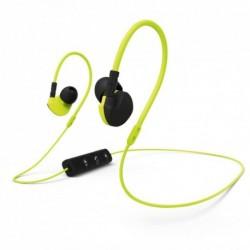 Hama Bluetooth clip-on sluchátka s mikrofonem Active BT, žlutá/černá