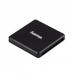Hama Multi čtečka karet USB 3.0, SD/microSD/CF, černá
