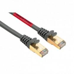 Hama síťový křížený patch kabel CAT 5e, 2xRJ45, stíněný, 3m, blistr