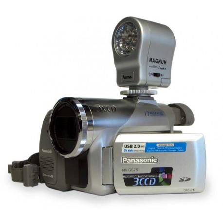 LED video světlo 7LED