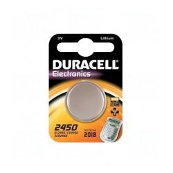 Baterie Duracell CR2450, DL2450, BR2450, KL2450, LM2450, 3V, blistr 1 ks