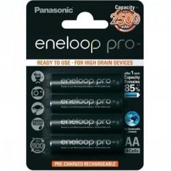 Baterie Panasonic Eneloop Pro BK-3HCCE, BK-3HCDE, AA 2550mAh, blistr 4ks