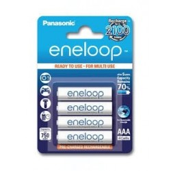 Baterie Panasonic Eneloop BK-4MCCE, AAA 800mAh, blistr 4ks