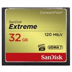 SanDisk Extreme CF 32 GB 120 MB/s zápis 85 MB/s UDMA7