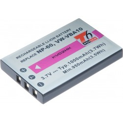 Baterie T6 power Fuji NP-60, KLIC-5000, NP-30, LI-20B, A1812A, L1812A, L1812B, BT.6530A.002, PX1656, SLB-1037, VW-VBA10, D-Li2,