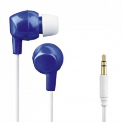 Thomson dětská sluchátka EAR3106, silikonové špunty, modrá/bílá