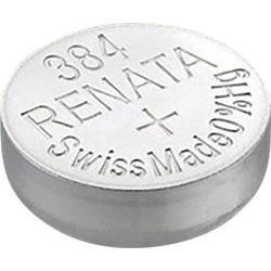 Baterie Renata 384, 392, LR41, AG3, G3, LR736, GP392, V384, V392, 1,5V, blistr 1 ks, silver oxide