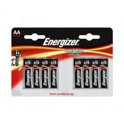 Baterie Energizer Alkaline Power AA, LR6, tužková, 1,5V, blistr 8 ks
