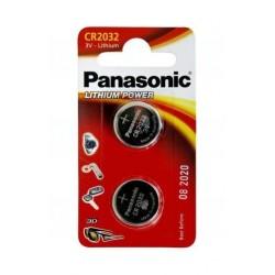 Baterie Panasonic CR2032, DL2032, BR2032, LM2032, 3V, blistr 2 ks
