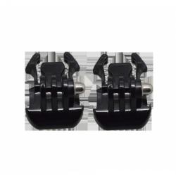 Zacvakávací držák 2ks (Black Buckle Basic Mount)