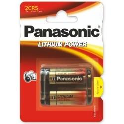 Baterie Panasonic 2CR5, EL2CR5, DL245, KL2CR5, EL2CR5BP, RL2CR5, DL345, 5032LC, 245, 6V, blistr 1ks