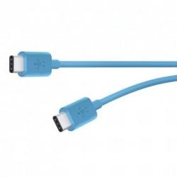 BELKIN MIXIT UP kabel USB C - USB C, 1.8m, modrý