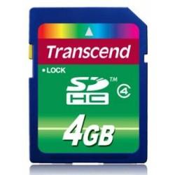 Transcend SDHC Class 4 4GB TS4GSDHC4
