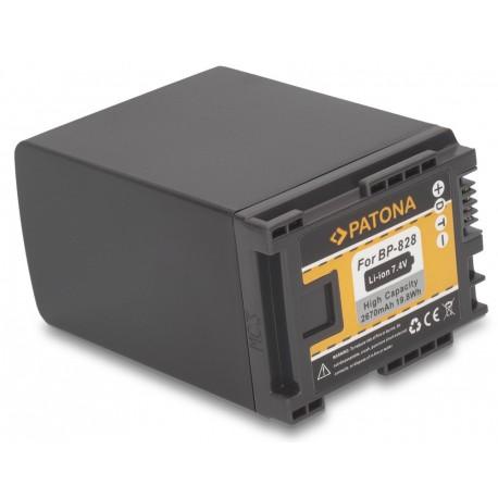 Baterie PATONA kompatibilní s Canon BP-828