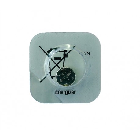 Baterie Energizer 377, 376, LR66, G4, LR626, D377, SR626W, SR66, V377, 1,55V, blistr 1 ks, silver oxide