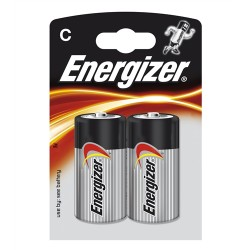 Baterie Energizer Base C, LR14, R14, malé mono, LR15, AM2, L, MN1400, 814, E93, LR14N, 14A, 1,5V, blistr 2 ks