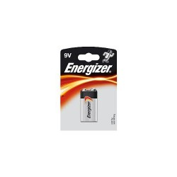 Baterie Energizer Base 9V, 6LR61, A1604, 6LF22, 6F22, 6UM6, MN1604, LR22, blistr 1ks