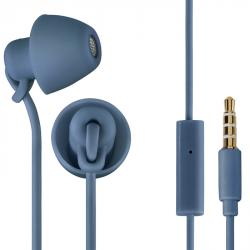 Thomson sluchátka s mikrofonem EAR3008 Piccolino, mini špunty, modrá