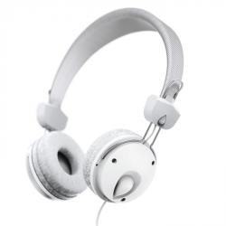 Hama on-ear sluchátka s mikrofonem Fun4Phone, bílá