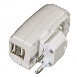 """Síťová USB nabíječka """"Dual"""", 2 A"""