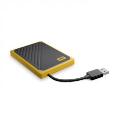My Passport Go SSD, USB 3.0, 500 GB černá/žlutá