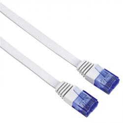 Hama síťový patch kabel Cat6, UTP, plochý, 10 m