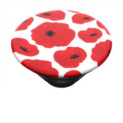 PopSockets PopTop Gen.2, Scandi Poppies, červené máky, výměnný vršek