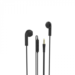 Hama sluchátka s mikrofonem Advance, pecky, černá