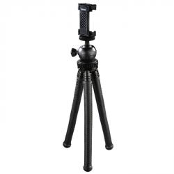 Hama stativ 'FlexPro 3v1' pro fotoaparáty, GoPro kamery a smartphone, 27 cm, černý, krabička