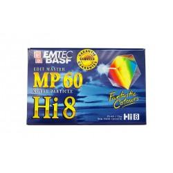 Kazeta Basf Hi8/D8 MP60