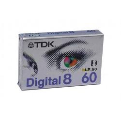 TDK Kazeta Digital8 D8-60EB