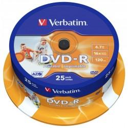 Verbatim DVD-R 4,7GB 25ks