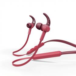 Hama Bluetooth špuntová sluchátka Connect Neck, červená