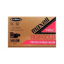 Maxell kazeta VHS-C TC-30 HGX-GOLD