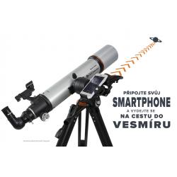 Celestron StarSense Explorer DX 102/660mm AZ teleskop čočkový (22460)