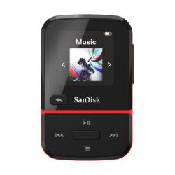 SanDisk MP3 Clip Sport Go2 16 GB, červená