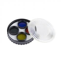 """Celestron filtr 1.25"""" sada 4 barevných filtrů (94119-10)"""