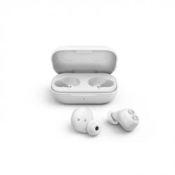 Thomson Bluetooth špuntová sluchátka WEAR7701, bezdrátová, nabíjecí pouzdro, bílá