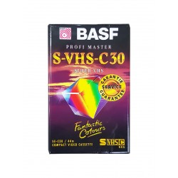 BASF kazeta S-VHS-C 30
