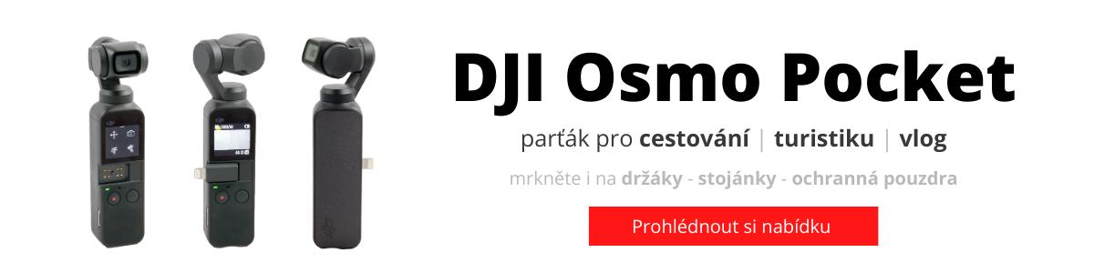 DJI OSMO Pocket - široká nabídka doplňků